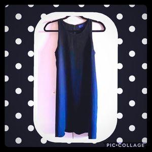 GAP Women's Petite Midi Blk Slvless Dress GUC